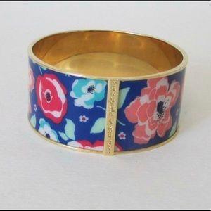Kate Spade Multi floral Bangle bracelet